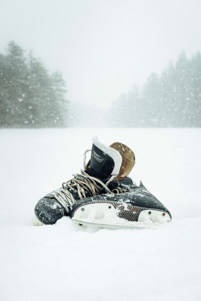 Hockey Skates Snow